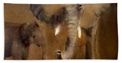 African Elephant Beach Sheet