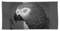 African Grey Parrot Beach Sheet