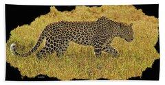 African Leopard 7 Beach Towel