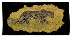 African Leopard 7 Beach Sheet