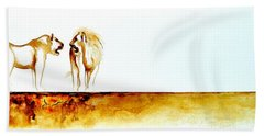 African Marriage - Original Artwork Beach Towel