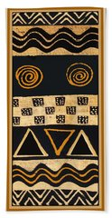 African Primordial Spirits - 2 Beach Sheet