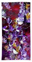 African Violet Awake #4 Beach Sheet