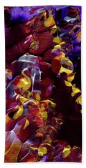 African Violet Awake Beach Towel