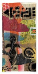 Afro Collage - -l Beach Towel