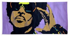 Afro Prince Beach Towel