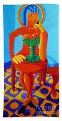 Afrodite Akimbo Beach Towel