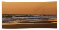 After A Sunset Beach Sheet