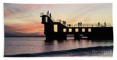 After Sunset Blackrock 4 Beach Towel