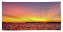 After Sunset Beach Towel by Doug Long