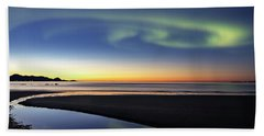 After Sunset V Beach Towel