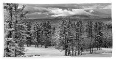 After The Snow  Beach Sheet by Betty Pauwels