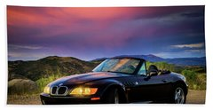After The Storm - Bmw Z3 Beach Towel