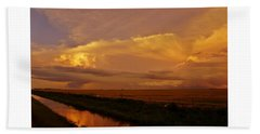 Beach Towel featuring the photograph After The Storm by Ed Sweeney