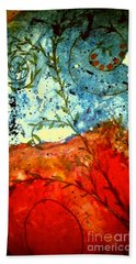 After The Storm The Dust Settles Beach Towel