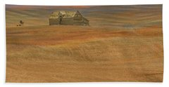 Afterglow On The Palouse Beach Towel
