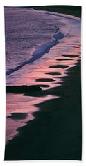 Beach Towel featuring the photograph Afterglow by The Walkers