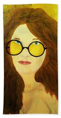 Afterlife Concerto Janis Joplin Beach Towel