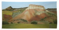 Afternoon At Ghost Ranch Beach Towel