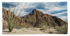 Afternoon At Joshua Tree National Park Beach Towel