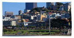 Afternoon At Maritime Park Beach Towel