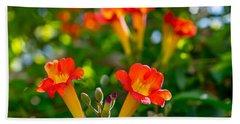 Afternoon Flowers Beach Sheet