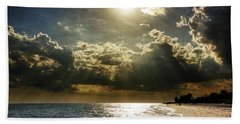 Beach Towel featuring the photograph Afternoon On Sanibel Island by Chrystal Mimbs