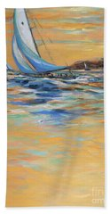 Afternoon Winds Beach Towel