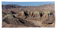 Beach Towel featuring the photograph Afton Canyon by Jim Thompson