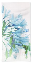 Beach Sheet featuring the photograph Agapanthus 1 by Cindy Garber Iverson