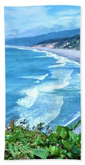 Agate Beach Beach Towel