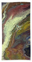 Agate Waterfall Beach Towel