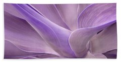Agave Attenuata Abstract 2 Beach Towel