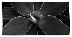 Agave Leaves Detail Beach Towel