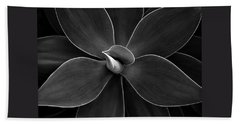 Agave Leaves Detail Beach Towel