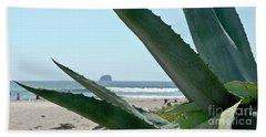 Agave Ocean Sky Beach Sheet by Yurix Sardinelly