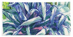 Agave Tangle Beach Towel