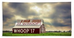 Beach Towel featuring the photograph Aggie Barn by David Morefield