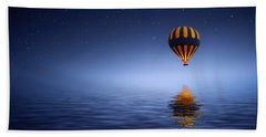 Air Ballon Beach Towel