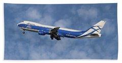 Air Bridge Cargo Airlines Boeing 747-83q Beach Towel