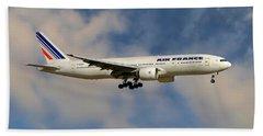 Air France Boeing 777-228 Beach Towel