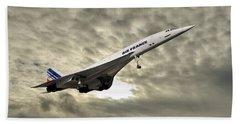 Air France Concorde 115 Beach Towel