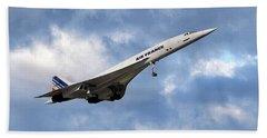 Air France Concorde 118 Beach Towel