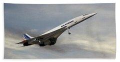 Air France Concorde 122 Beach Towel
