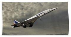 Air France Concorde 116 Beach Towel