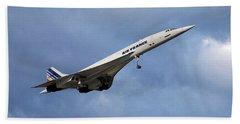Air France Concorde 117 Beach Towel