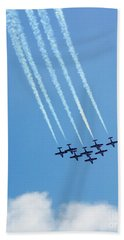 Air Show 3 Beach Towel