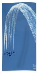 Air Show 4 Beach Towel