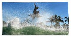 Air Show Beach Towel
