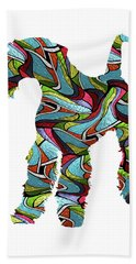 Airedale Terrier Sprit Glass Beach Towel